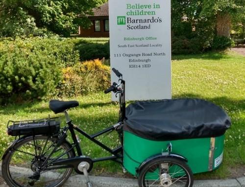 Green Team supports work at Barnardo's Hub