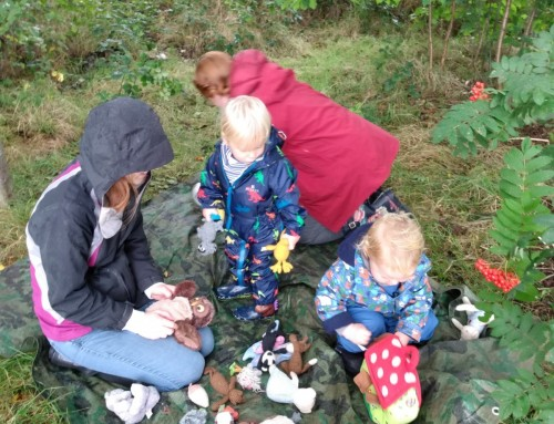 Supporting families with getting outdoors