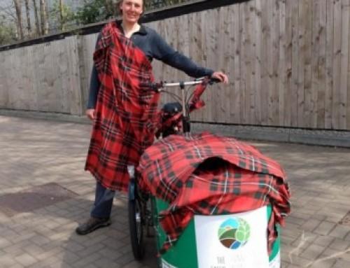 The Green Team Clan Take on the Virtual Kiltwalk Challenge