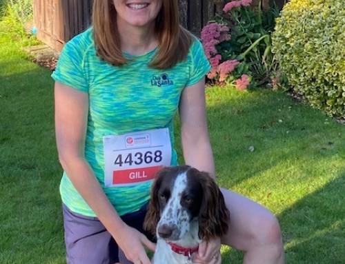 Gill takes on the London Marathon